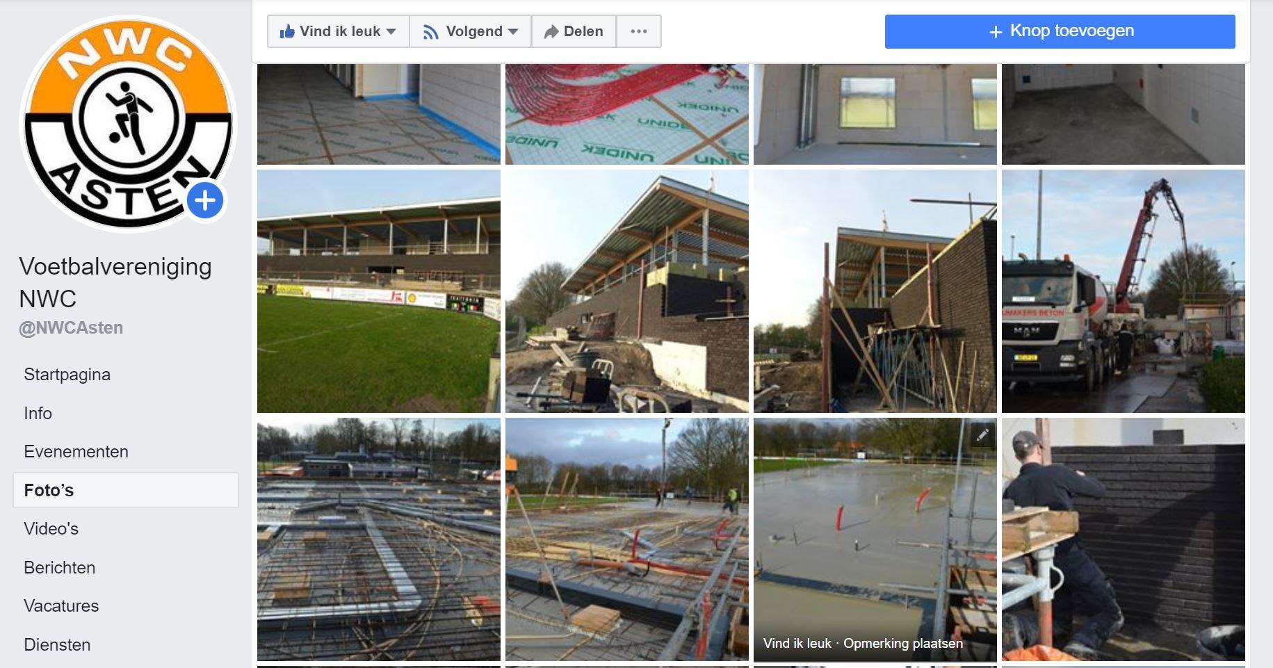 Fotoalbum nieuwbouw accommodatie NWC