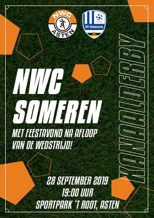 Zaterdag 28 september: de Kanaalderby NWC-Someren