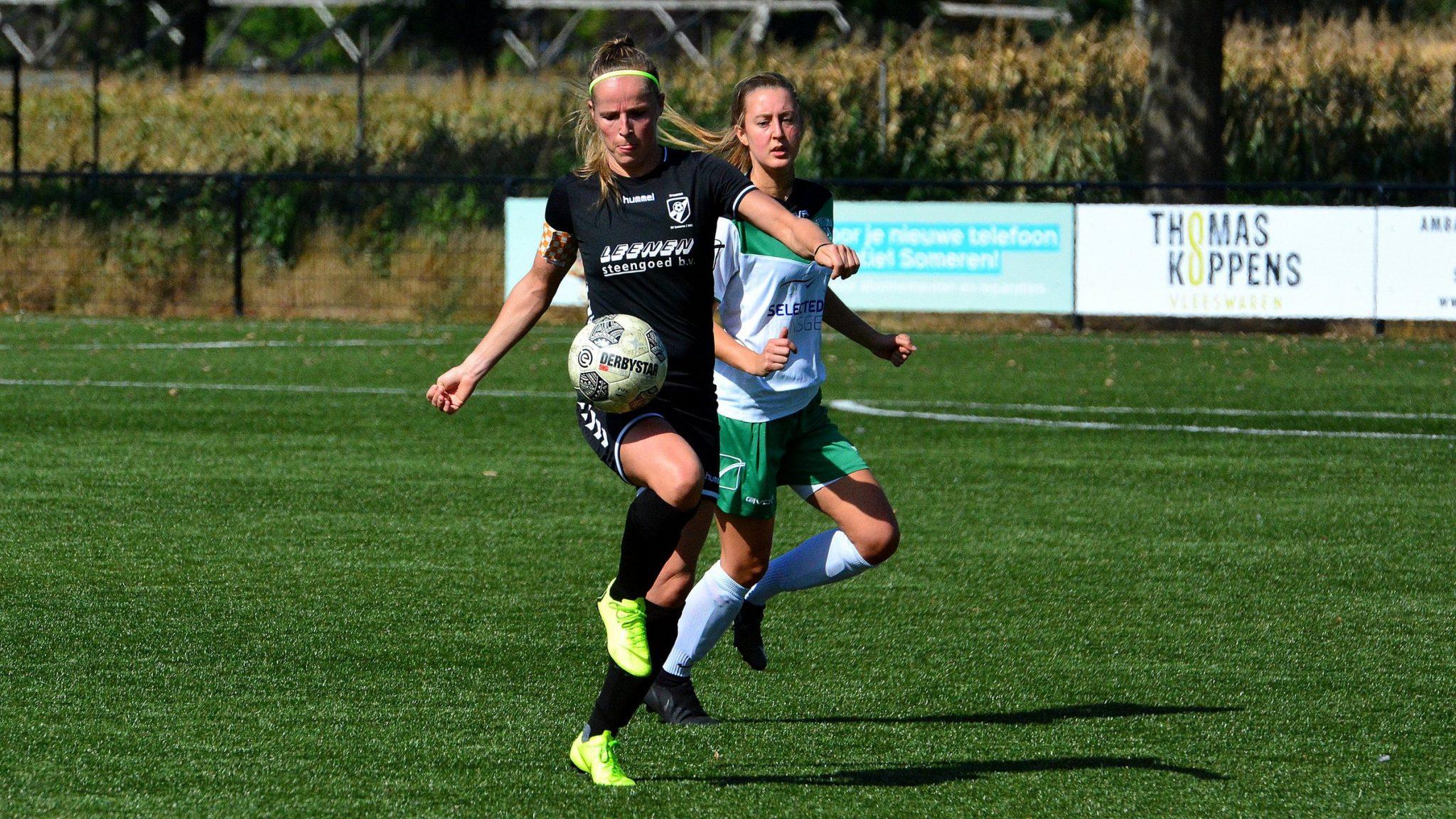 SV Someren/NWC  VR1 plaatsen zich ondanks verlies voor de  knock-out fase KNVB Beker.