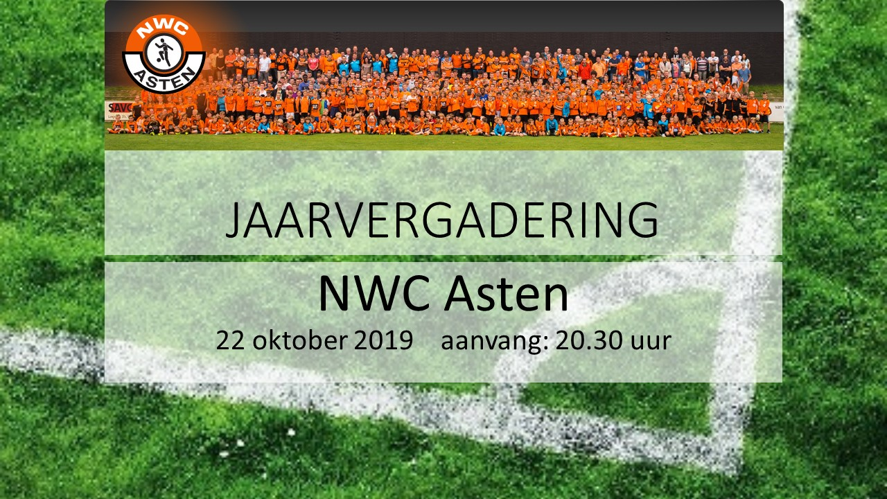 -Update- Uitnodiging Jaarvergadering NWC