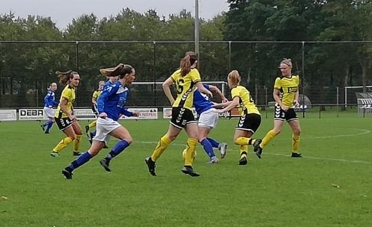 ST Someren/NWC en DSE gaan met een 1-1 remise uit elkaar