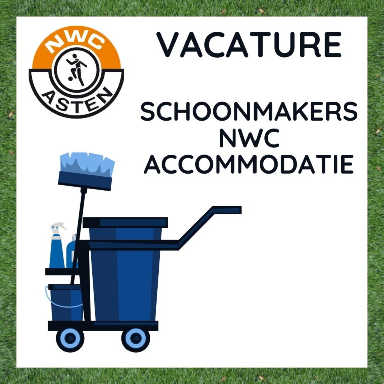 VACATURE Schoonmakers accommodatie