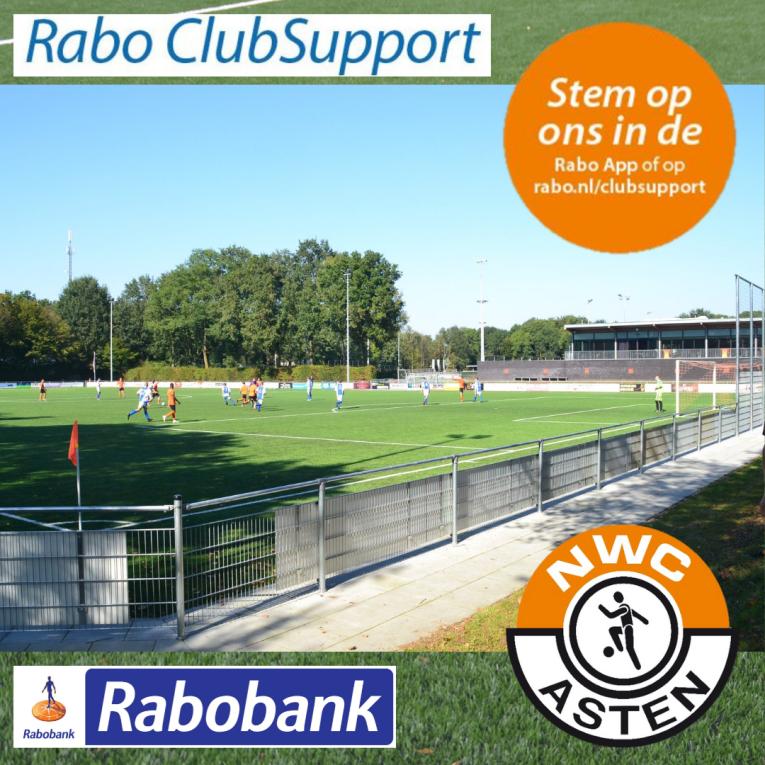 Breng je stem uit op NWC tijdens de Rabo ClubSupport actie 2021
