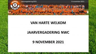 Uitnodiging jaarvergadering NWC