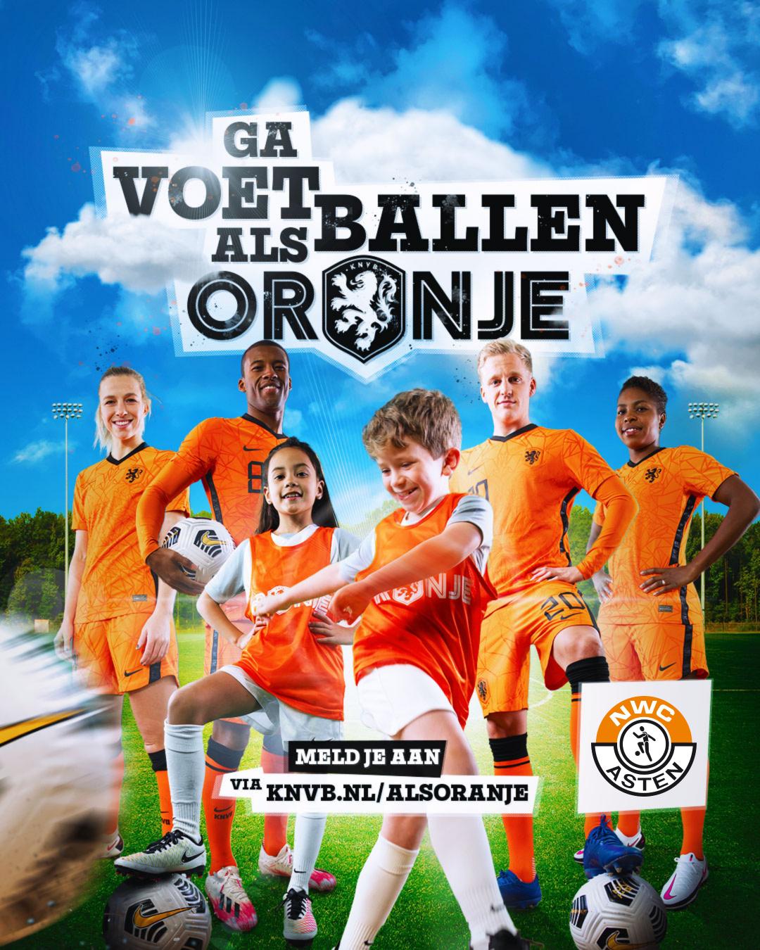 12 Juni Oranje Festival bij NWC!
